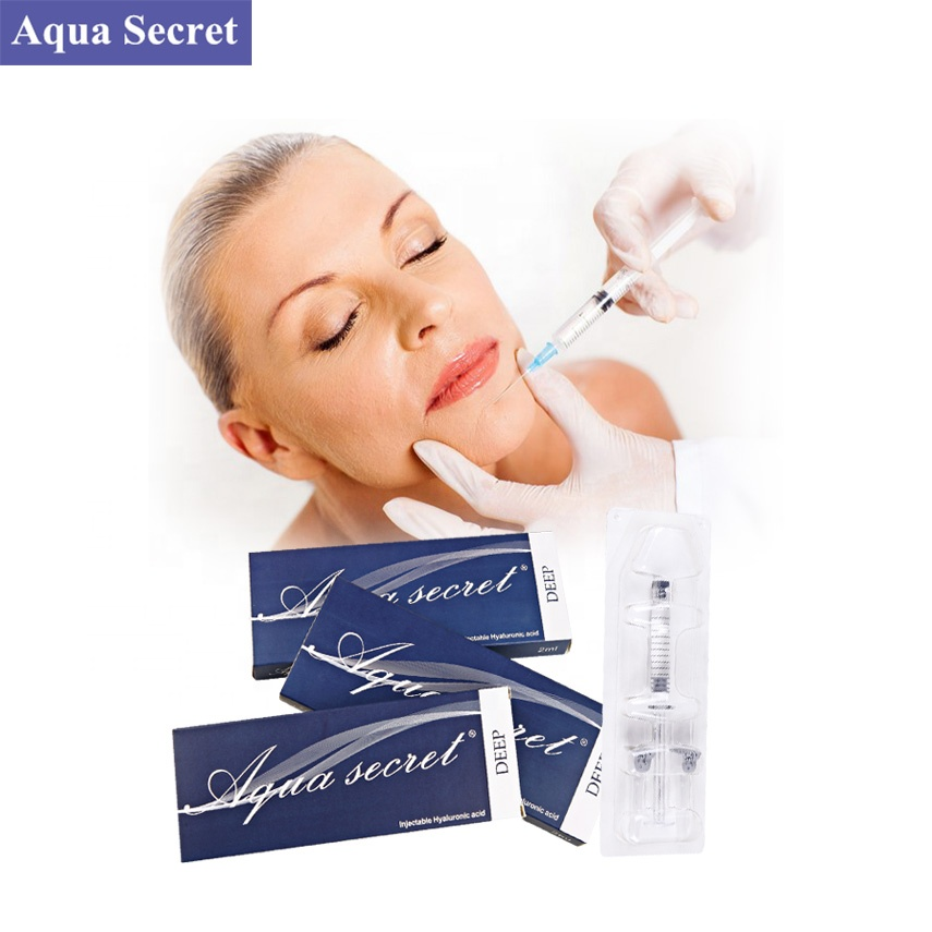 2019 high quality cosmetic buy injection price hyaluronic acid anti aging gel for cheek chin