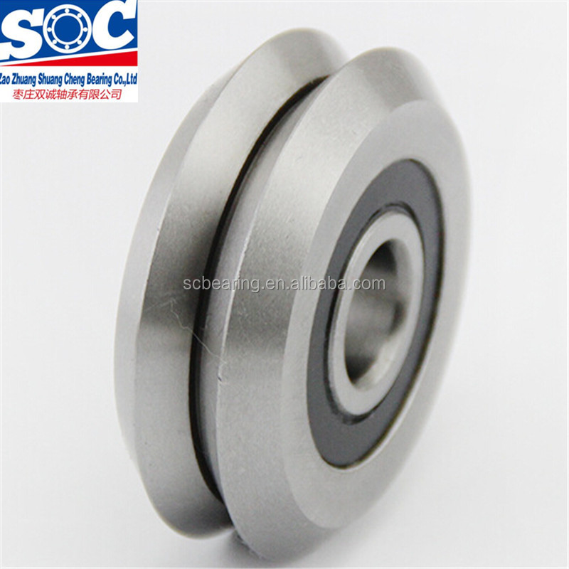 V Groove Track Roller Bearings RM2 2RS RM2ZZ guide Bearing for <strong>3</strong>/8&quot; linear shaft