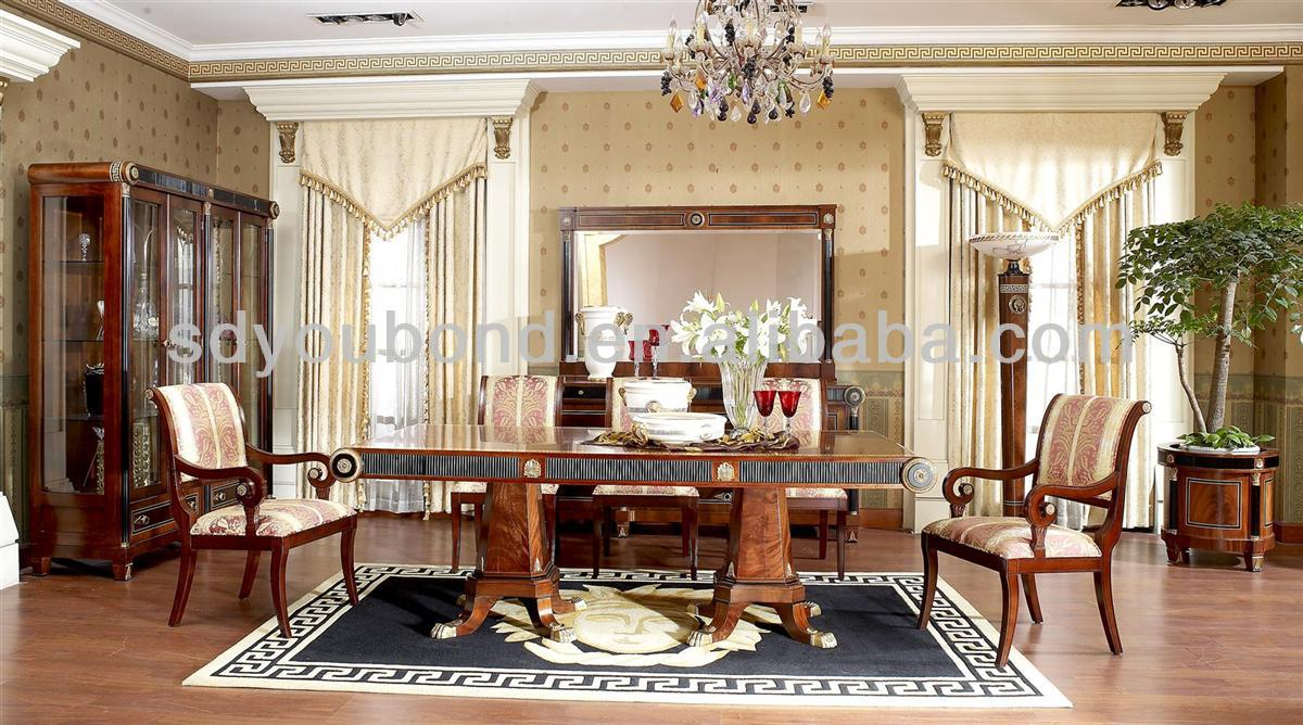 0010 Arabic Style Top Grade High Quality Dining Room Set View Senbetter Product Details From Foshan Youbond Furniture Co Ltd On