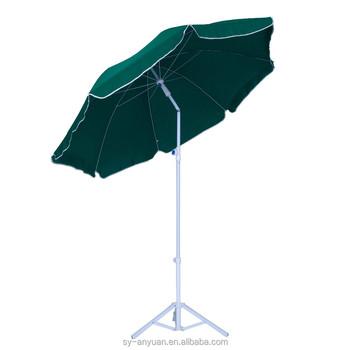 Plain Umbrella Steel Patio Parasol With