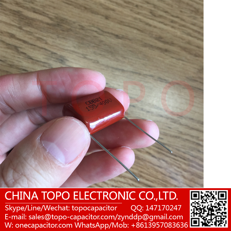 Electric Power Tools Metallized Polyester Film Capacitors Cbb22 Capacitor 394J 0.39uf 390nf 400V Capacitors
