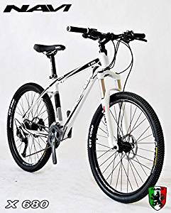 "Navi X680 Hardtail Aluminum Alloy Seamless Frame, Shimano Alivio 27-speed, Zoom Hydraulic Disc Brake, 26"" Wheel Mountain Bike"