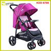 Fast Folding and Adjustable Handle Height Deluxe Baby Stroller, Baby Pushchair EN and ASTM Approved