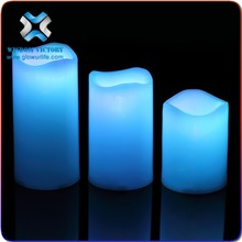 Battery Operated Ivory Flameless Moving Wick Led Candle, Flamelss led votive candle,luminous led moon candle Most Popular