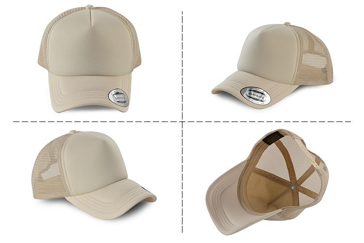 d3ac444b32bbd High Quality Wholesale Women Distressed Custom Logo All Mesh Blank Foam  Vintage Trucker Hat Cap
