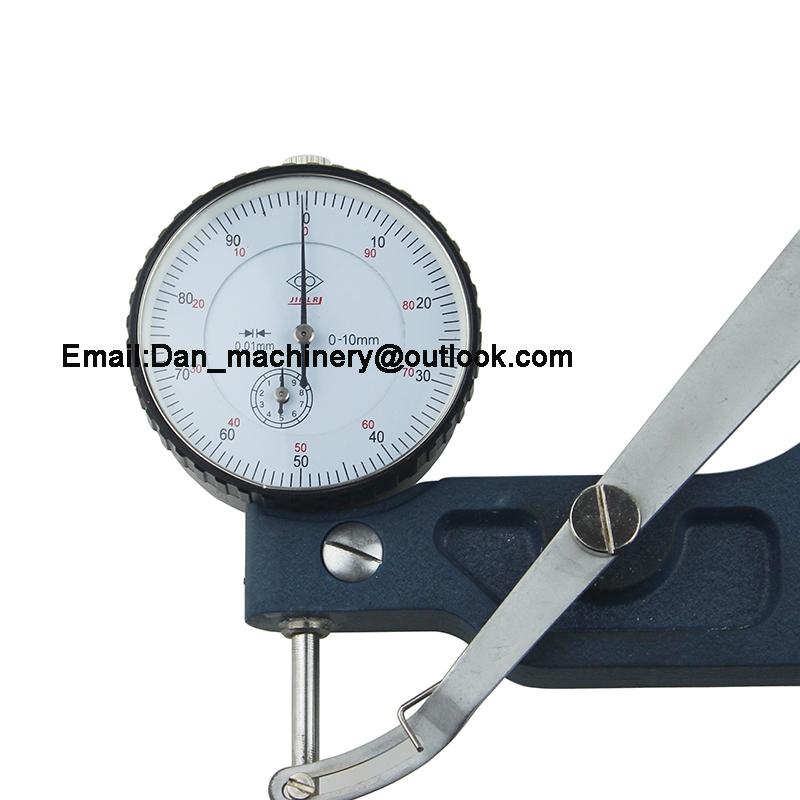Dial thickness Gauge for paper ,film, leather (Resolution 0.01MM depth 270mm,measure range 0-20mm)
