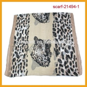 new styles fashion tiger leopard scarf shawl