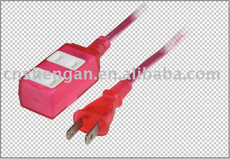 PSE Japanese extension power cords