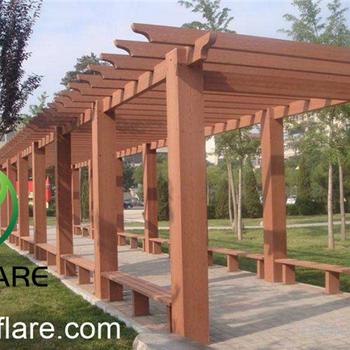 Wpc Patios Timber Pergola Designs In Garden Or Balcony - Buy Timber Pergola  Designs,Timber Pergola Designs,Pergola Designs For Patios Product on