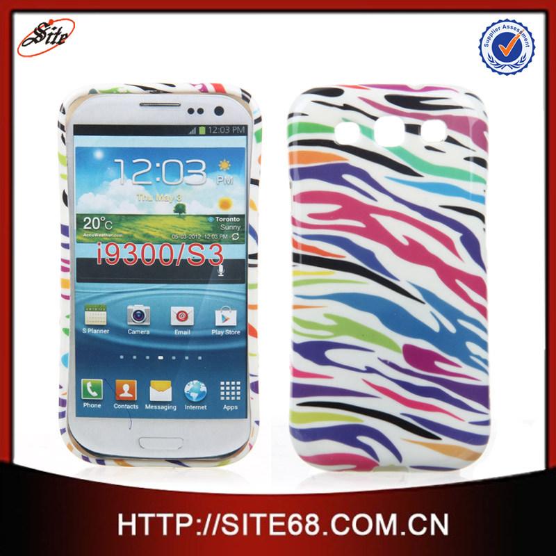 60150ee303f5 Celular De Accesorios Casos de TPU Decal Funda Caja Forro Protector Estuche para  Samsung Galaxy S3