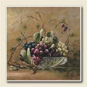 Absorbastone Coasters ~ Grapevine Breeze by AbsorbaStone
