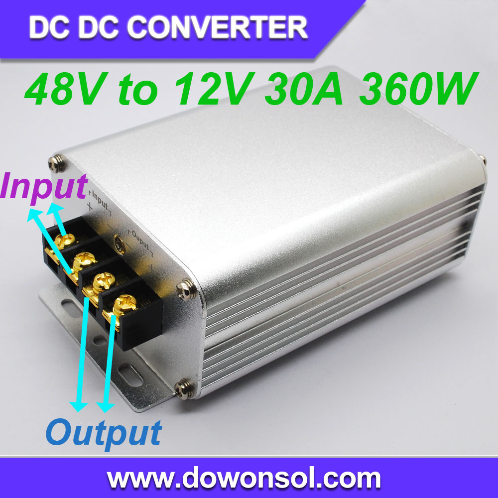 48V to 12V 30A 360W waterproof <strong>DC</strong>/ <strong>DC</strong> converter step down power module