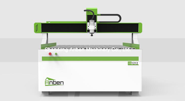Enrutador cnc Anben barato de 3 ejes 1212 máquinas de fabricación de madera para moldes industriales