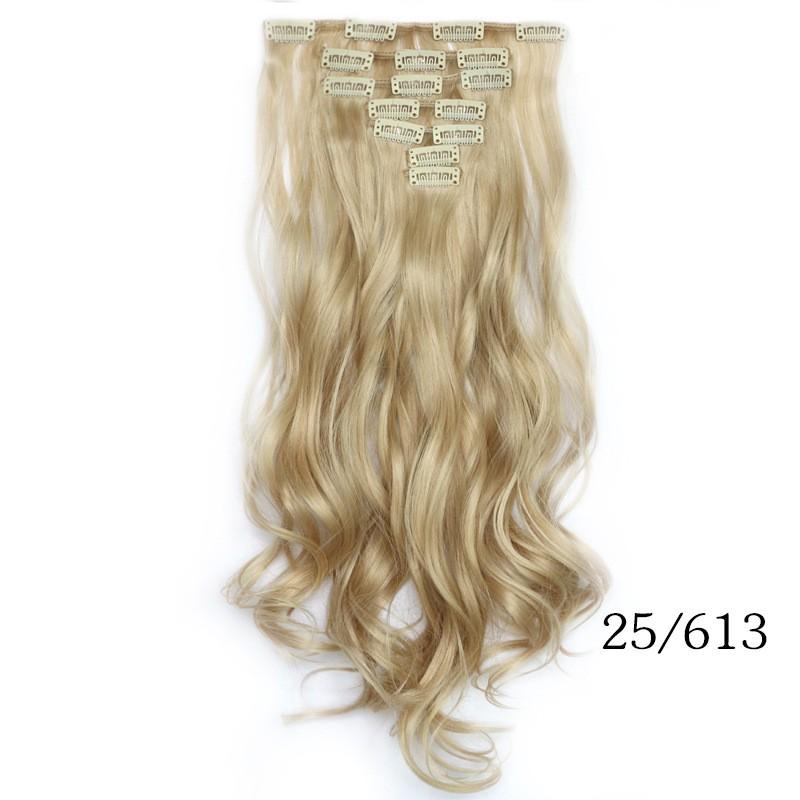 Смешанный волос для наращивания