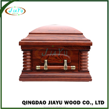 Best wholesale adult funeral equipment wood coffin for sale from china