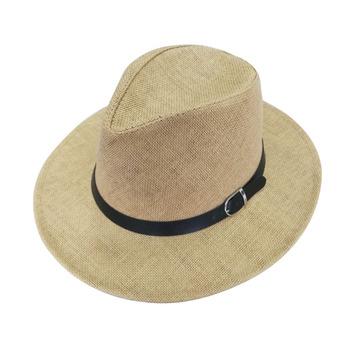 Oem De Cuero De Verano Cuerda Decorar Marrón Tela De Papel Panamá Sombrero De Los Hombres Buy Sombrero Panamá Para Hombrepara El Sol Sombrero De