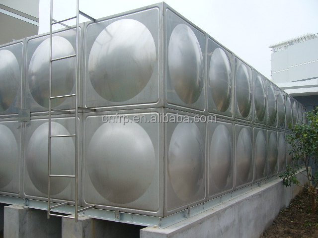 SS 304/SS 316 panels assembled water tanks