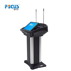 multimedia podium/electronic rostrum/lectern/kiosk screen with digital lectern