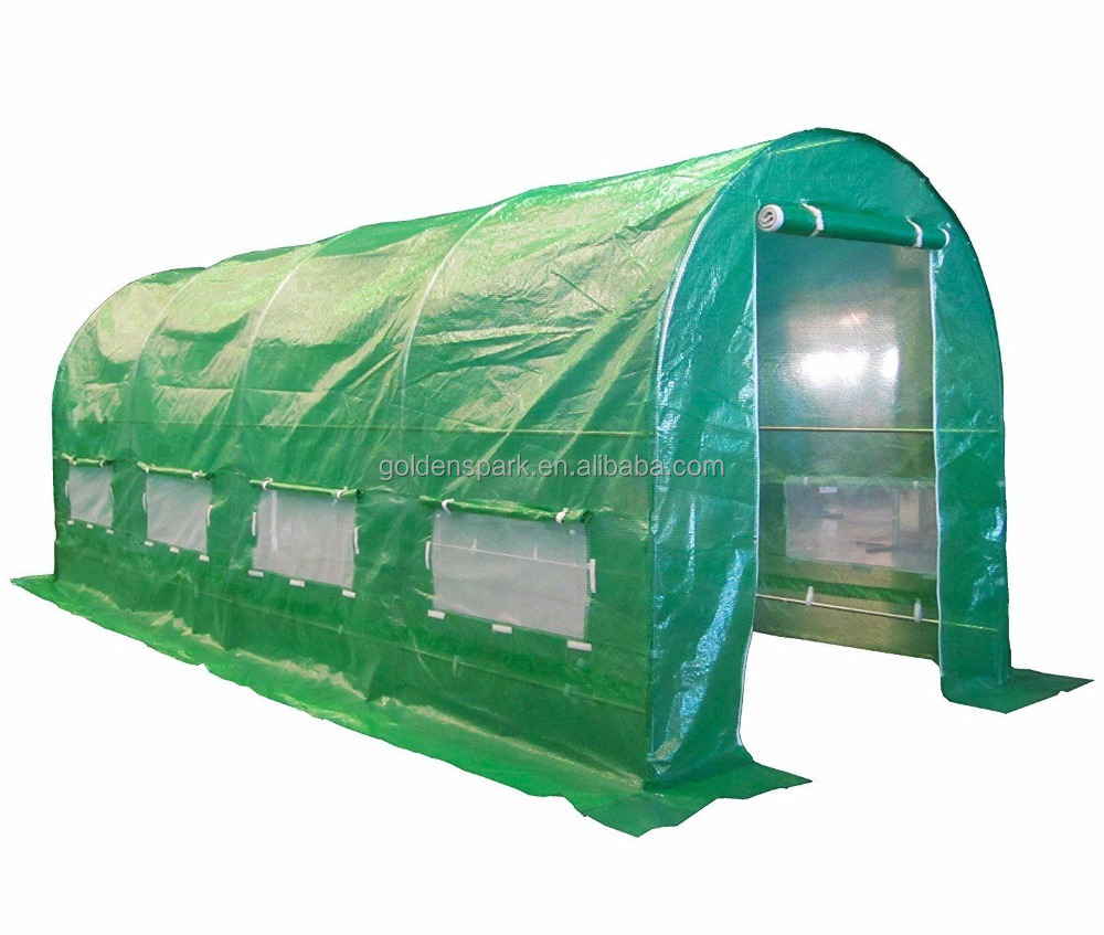 Garden Polytunnel Greenhouse Poly Tunnel Metal Growing Houses