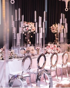 China manufacturer wholesale crystal candle holders high Quality Crystal candelabra