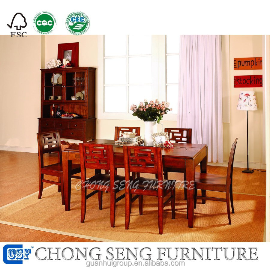 Maple Dining Room Set: America Style Dining Room Furniture Maple Solid Wood