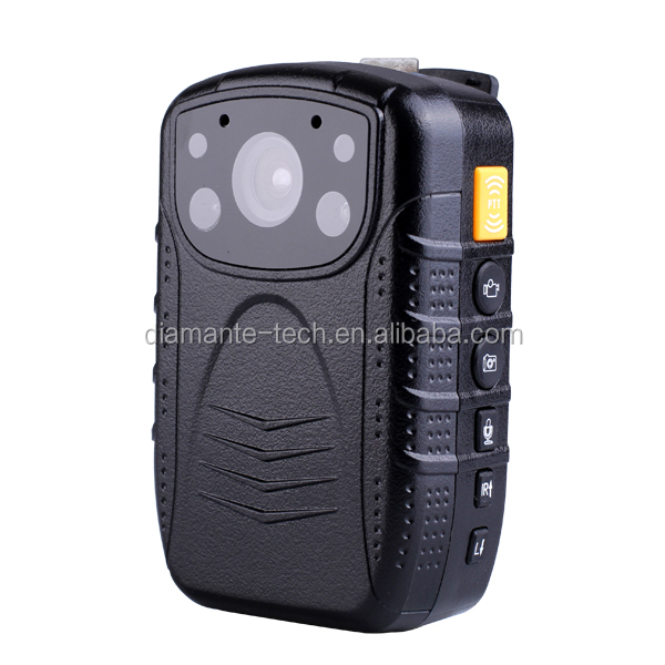 Diamante DMT-1 pre-record 30s post-record 30s 4 IR LEDS wearable body Worn police camera/police body camera/police dvr camera