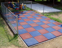 rubber running track crossfit basketball flooring with high quality