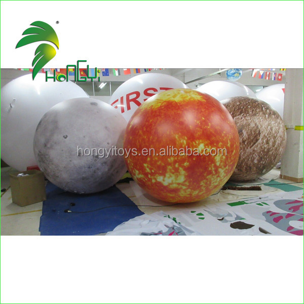 inflatable led lighting planet balloon (6)