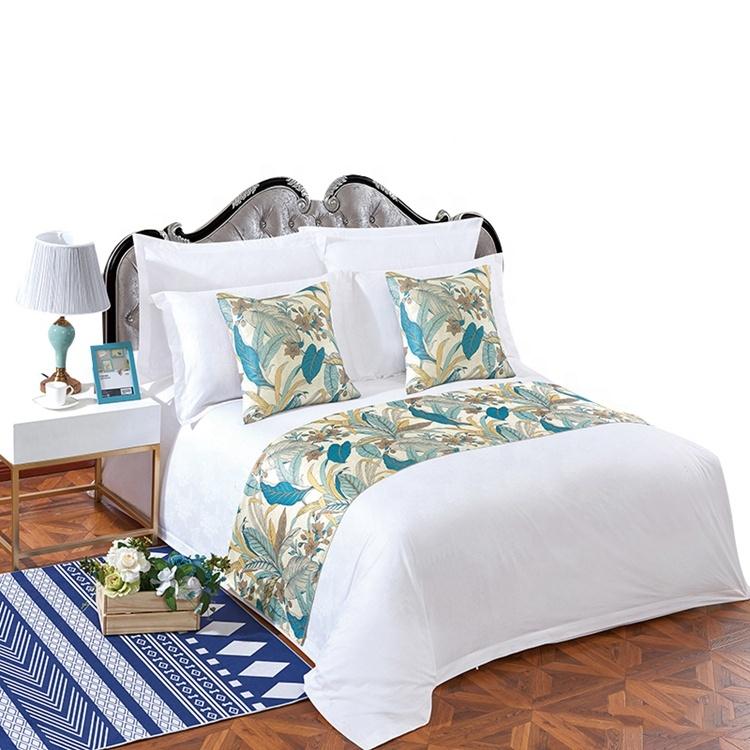 Wholesale cheap price plain bed linen white hotel duvet cover sets for 5 stars hotel