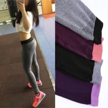 2016 Lady Women Sport Leggings Workout Pants  Sport Fitness Bodybuilding Leggings And Running Leggings