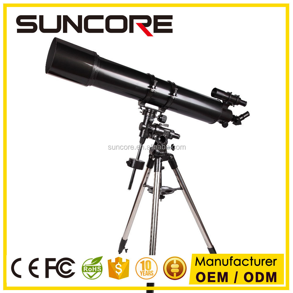 SUNCORE Large Refractor Astronomical Telescope with Aluminum tripod