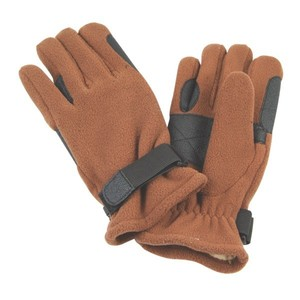 Fleece Leather Horse Riding Winter Gloves