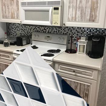 Kitchen Oil Proof Backsplash Tile Decals Multicolor DIY Steps Sticker Removable Stair Sticker Ceramic Tiles Patterns & Kitchen Oil Proof Backsplash Tile Decals Multicolor Diy Steps ...