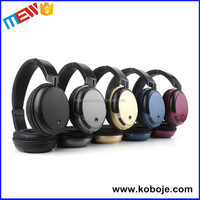 2016 New Arrival Rechargeable High Quality Wireless Bluetooth Headphone