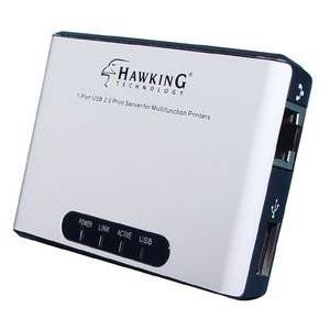 "Hawking Technologies, Inc - Hawking Hmps1u Fast Ethernet Print Server - 1 X 10/100Base-Tx , 1 X - 10Mbps, 100Mbps ""Product Category: Network & Communication/Print Servers"""