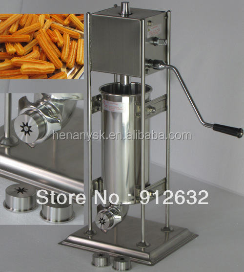 7L Manual Spain Churros  Machine Donut Machine Churros Fryer Churros  Machine Fryer