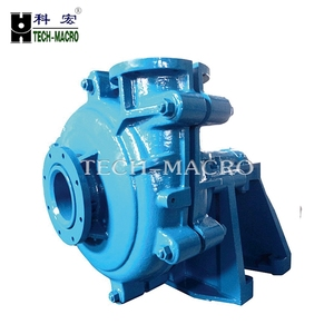 Hydraulic Rubber lined Centrifugal Slurry pumps Grease Lubricated Lime slurry pump