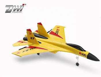 DWI Dowellin 3 channel rc airplane kit SU-27 rc jet plane with right price