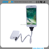 Flexible Charger Metal Twister Cable for iPhone 6 /Android/ Type-C for Oneplus 5 Phone Holder Stand Dock Anti-Fracture Car cable
