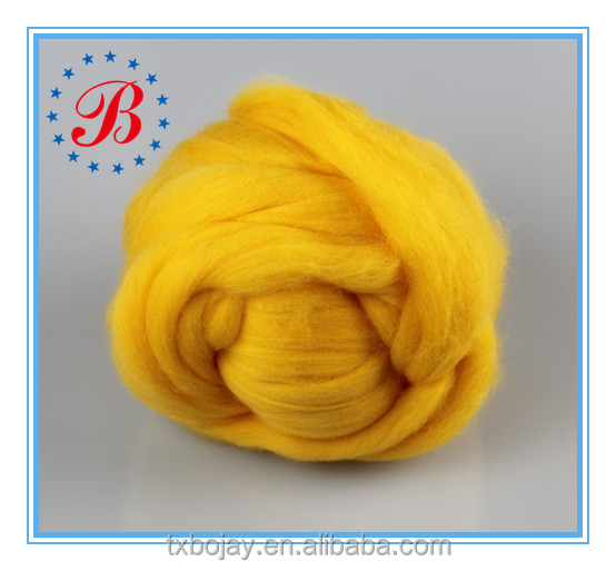 18 19 21 Micron 100% Extra Fine Arm Knitting Yarn Wholesale China Supplier 100% Real Australia Merino wool yarn Chunky Yarn