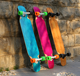 46X9 Complete Dancing Longboard Skateboard made in China
