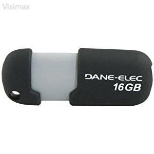 Visimax Upgrade DANE-ELEC DA-ZMP-16G-CA-G2-R Capless USB Pen Drive (16GB; Gray)