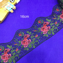 Wholesale elegant african 3d mesh polyester embroidery mesh lace fabric for garment