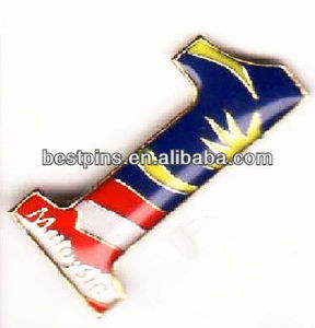 brass stamping malaysia collar pin 1 for government