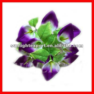 Real touch artificial silk flower calla lily