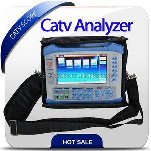 High-end digital TV analyser/All in one digital/analog/satellite tester