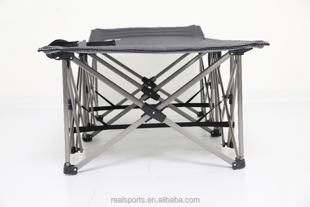 High Quality Camping Bed Stretcher Cot Aluminum Folding Bed Hot Sale