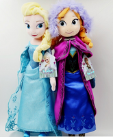 frozen doll anna and elsa plush toy