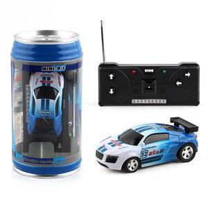 Coke Can Mini RC Car Radio Remote Control Micro Racing Car 4 Frequencies Toy For Kids Gifts RC Models