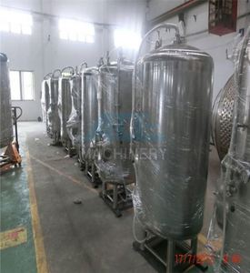 300L mini beer brewery equipment with bright beer tank